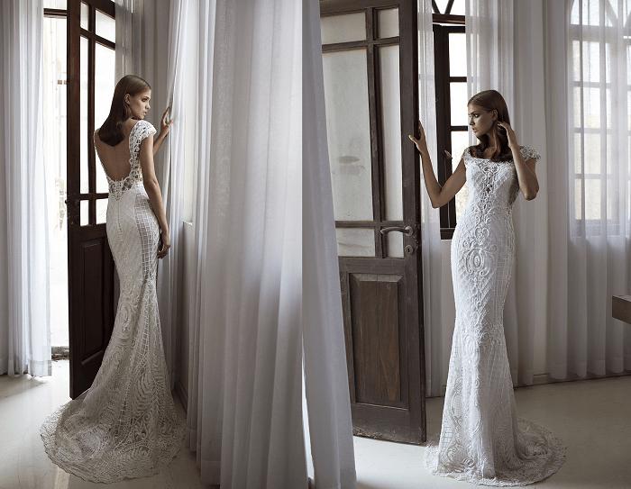 Утонченность Hadas Cohen - свадебное платье