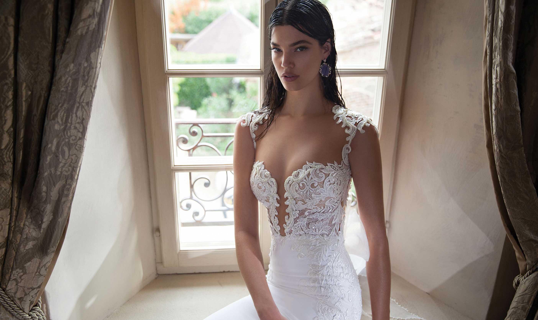 Сексуальное свадебное платье фото #8