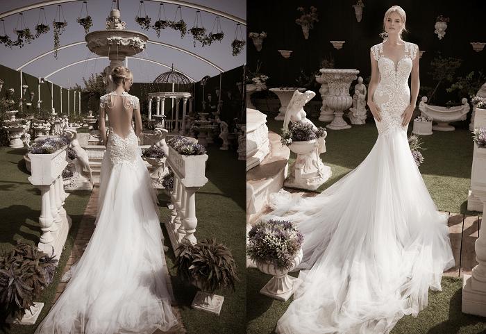 Элегантность NaamaAnat - свадебное платье