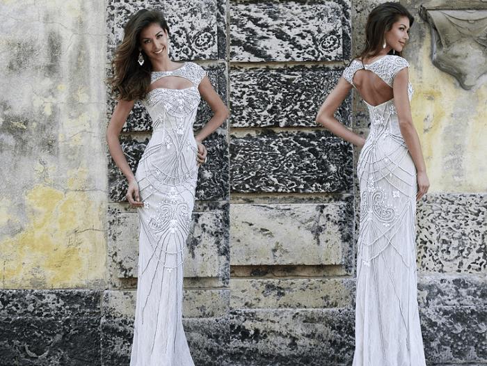 Блеск Sherri Hill - свадебное платье