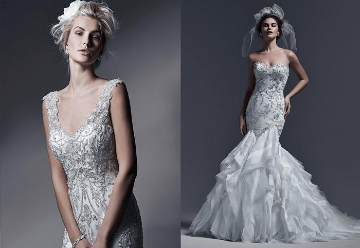 Кристальность Sottero and Midgley - свадебное платье
