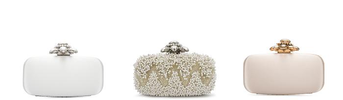 сумочка невесты Oscar de la Renta