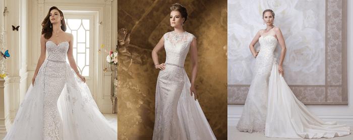 свадебное платье David Tutera