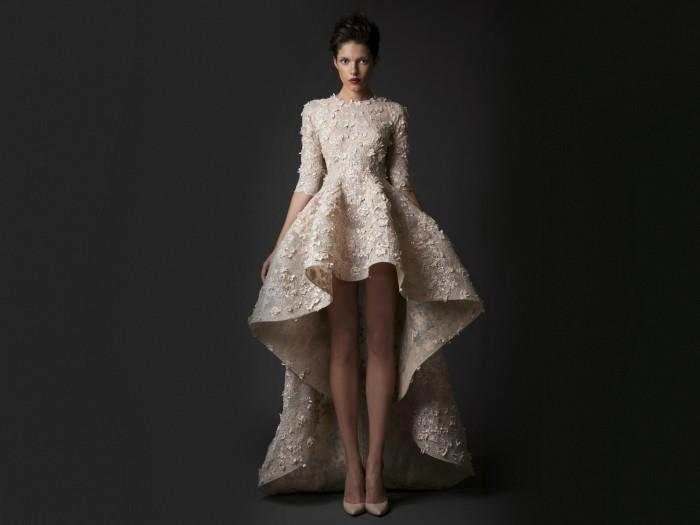 Платье-муллет: свадебное платье недели