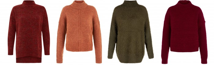 Однотонные свитера