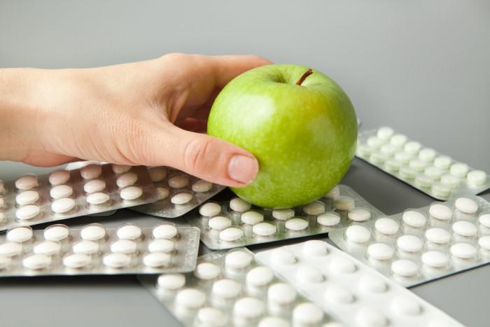 Яблоко вместо таблеток