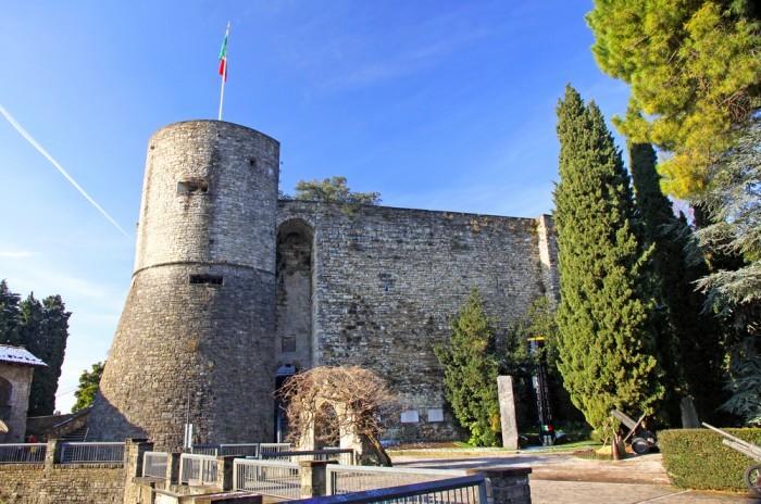 Замок Рокка, Бергамо