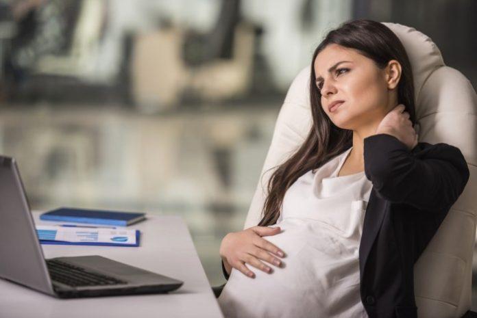 Если беременная работает до последнего