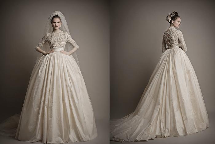 свадебное платье Ersa