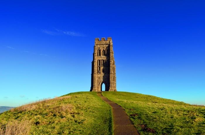 Холм Гластонбери Тор (Англия)