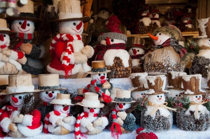 Игрушки на Рождество