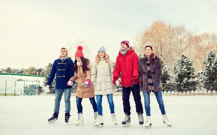 Каток или лыжи на Новый год