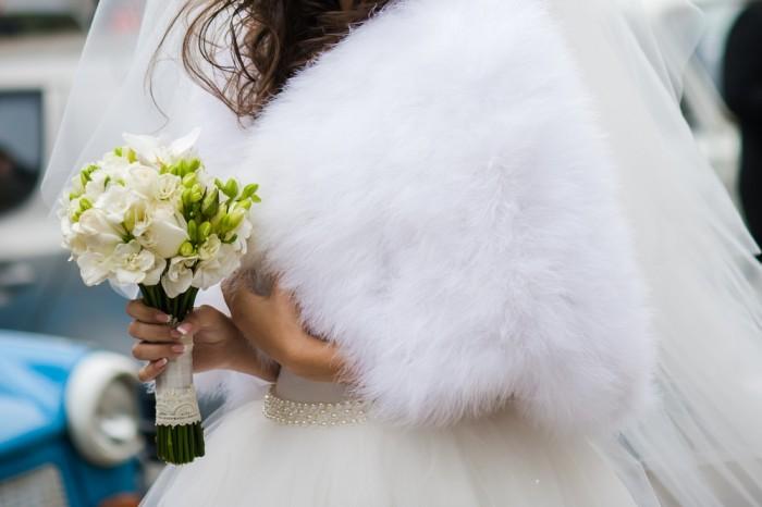 Накидка для невесты