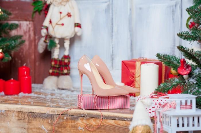 Обувь для празднования Нового Года