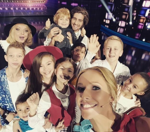 украинская телеведущая Катя Осадчая