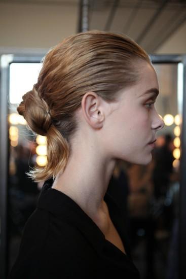 Эффект неухоженных волос