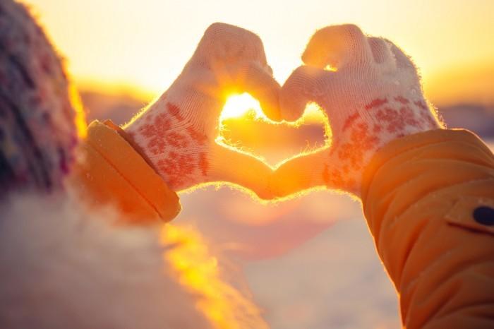 Сердце руками