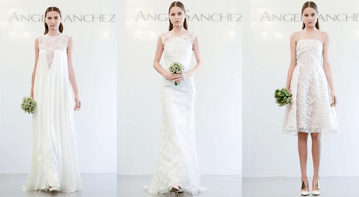 Архитектурные мотивы Angel Sanchez - свадебное платье