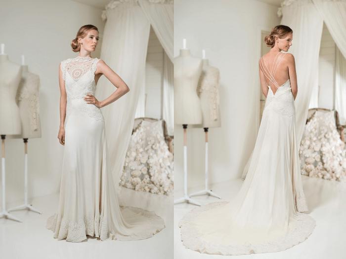 Богемный стиль Leila Hafzi - свадебное платье