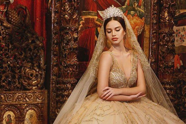 свадебное платье от Frida