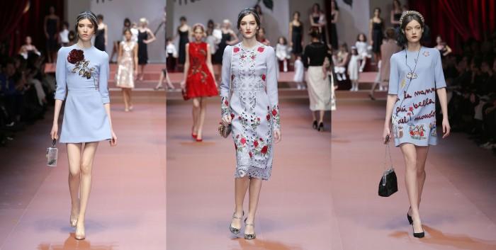 тон безмятежности Чарующие цвета Dolce & Gabbana