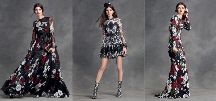 Платья haute couture Dolce & Gabbana