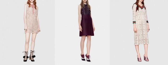 Платья haute couture Gucci