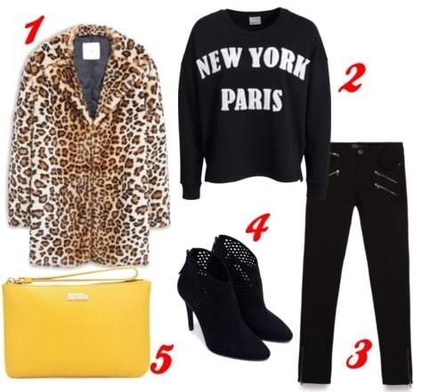 Оденься, как звезда: шубка с леопардовым принтом от топ-модели Кейт Мосс