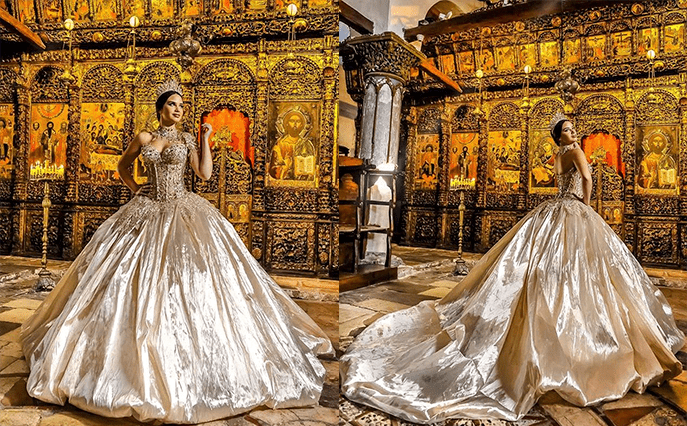 Платья для темпераментных невест от Frida 4