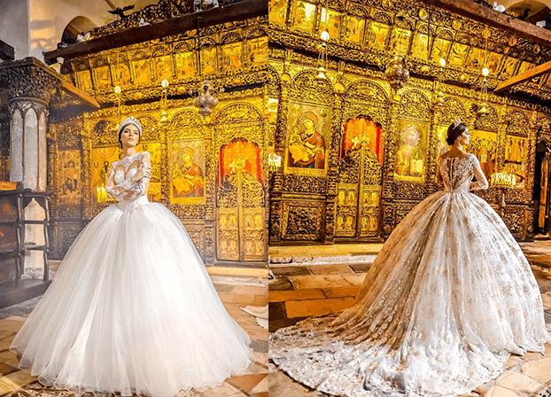 Платья для темпераментных невест от Frida 2