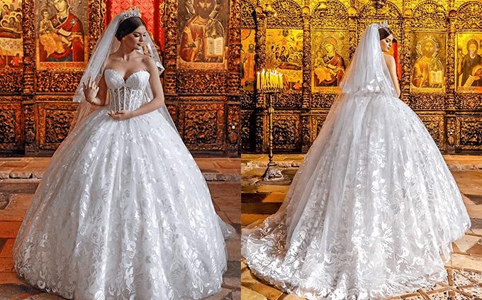 Платья для темпераментных невест от Frida