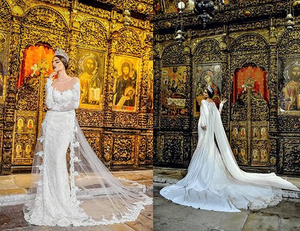 Платья для темпераментных невест от Frida 5