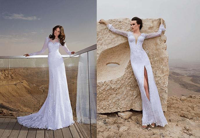 подвенечные платья Hadas Cohen
