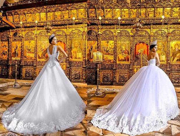 Платья для темпераментных невест от Frida 3