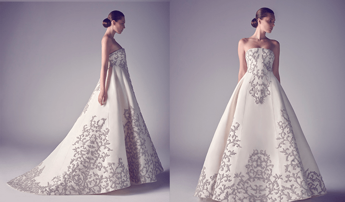 Платье-трапеция от Ashi Studio