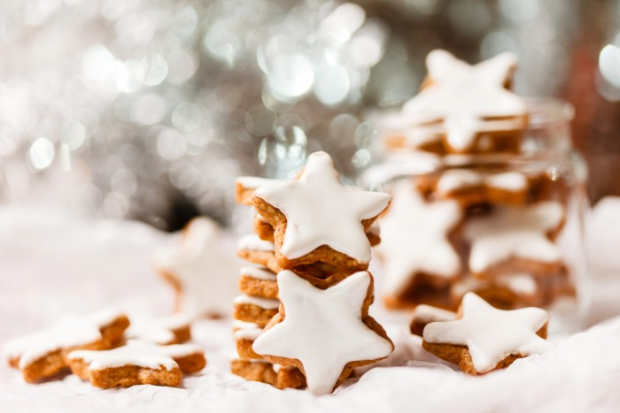 Имбирное печенье звездочками