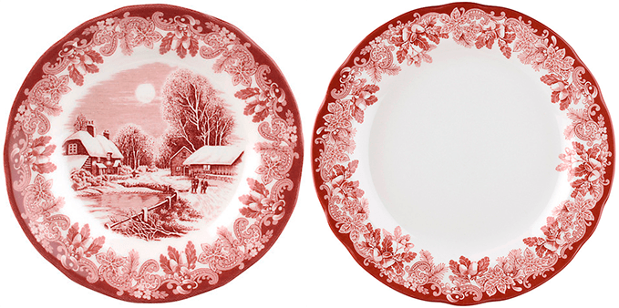 Посуда с зимними узорами от John Lewis