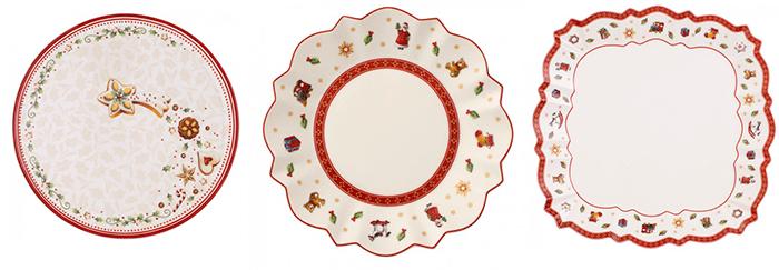 Зеленая и красная посуда от Villeroy and Boch