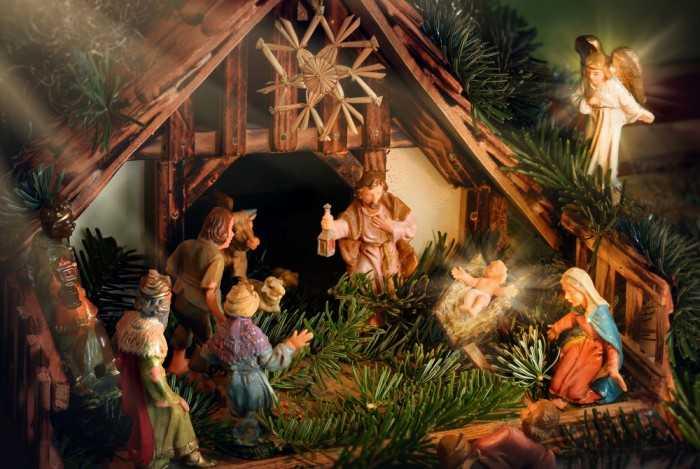 рождение младенца Иисуса