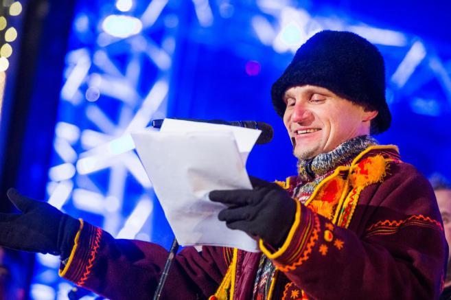 Музыкант Олег Скрипка