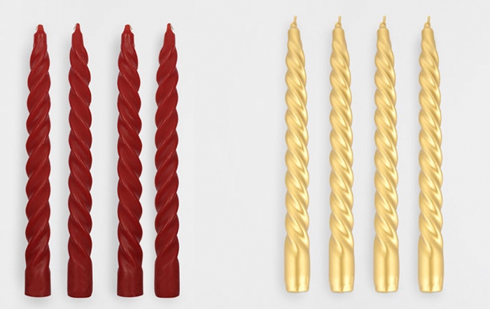 Свечи-скульптуры от Zara
