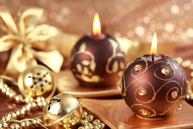 Коллекции свечей для новогодних и рождественских праздников