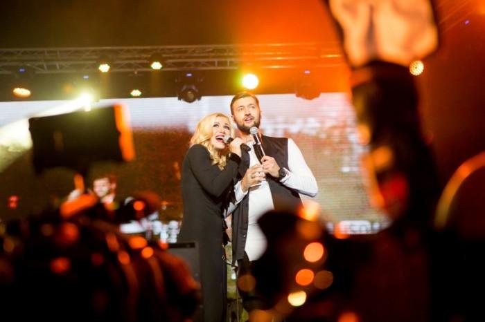Дуэт Тамерлан и Алена на сцене