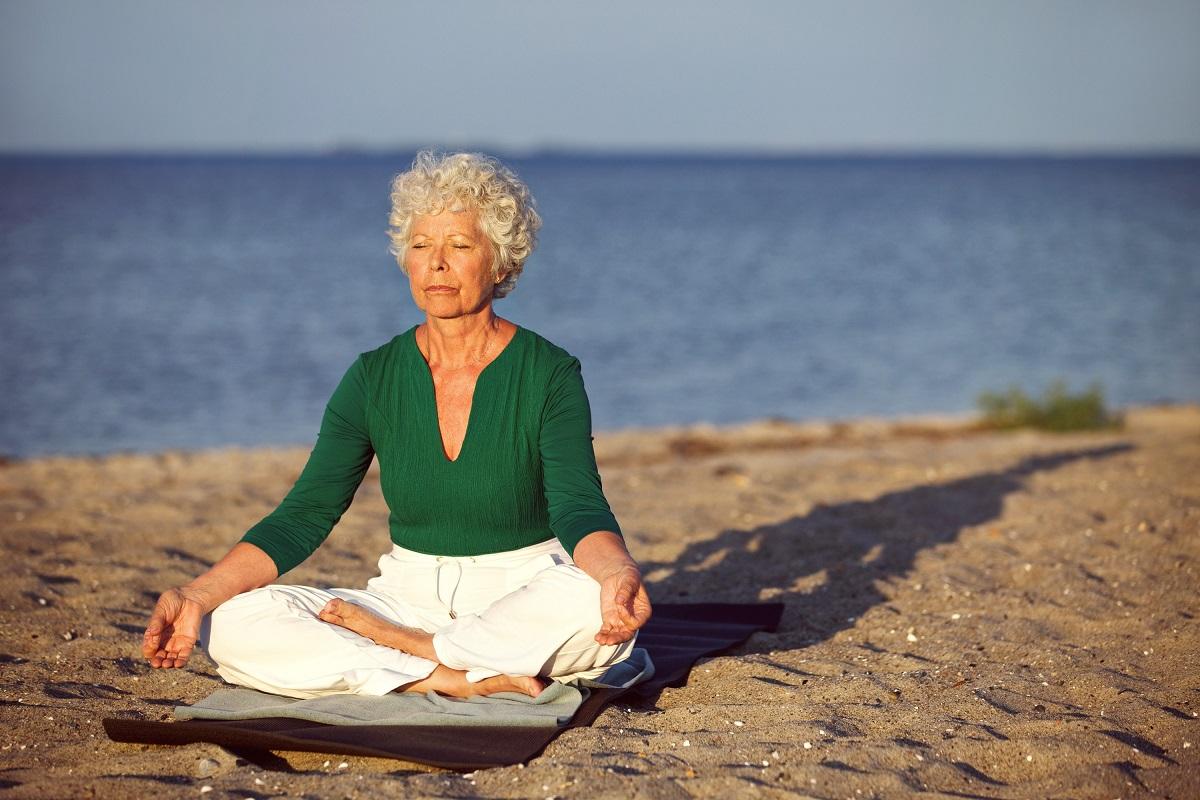 Для йоги нужна гибкость и молодой возраст