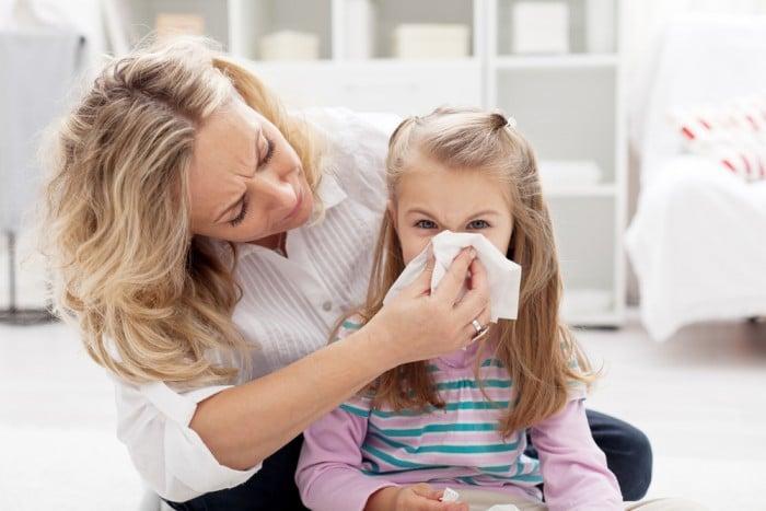 Обезопась ребенка при эпидемии гриппа