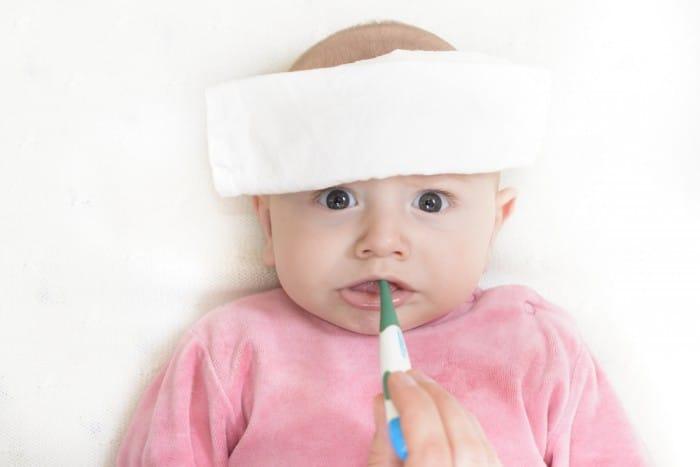 Острая респираторная инфекция у малыша