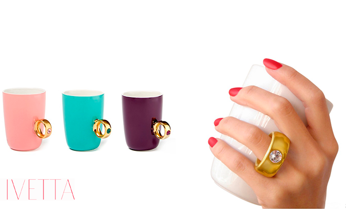 Чашка с ушком-кольцом