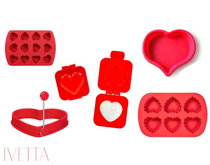 Формочки в форме сердец