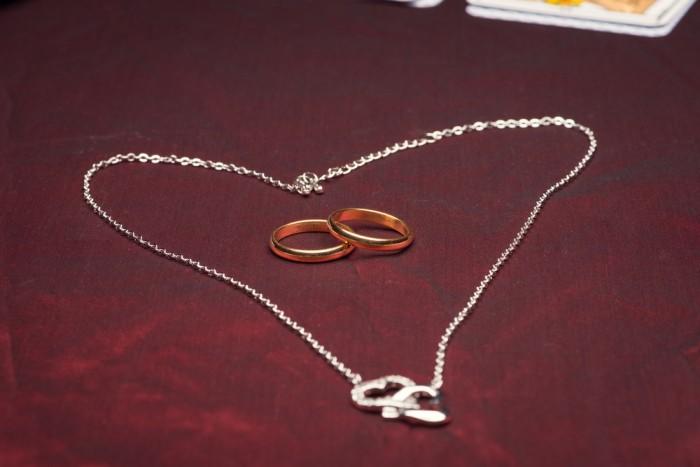 Гадание с кольцом и цепочкой