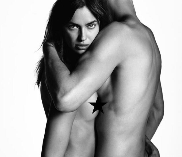 Модель Ирина Шейк разделась для рекламной компании Givenchy